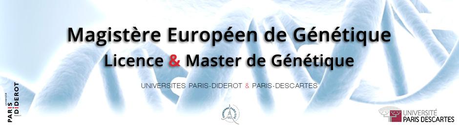 Forum du Magistère Européen de Génétique